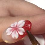 ジェルネイルにエンボス(3Dアート)の「 桜」を入れるやり方とコツ