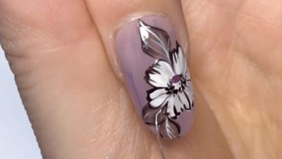 牡丹の花の書き方